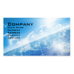 Solar Panel Business Card Template