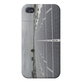 Solar Panel Field iPhone 4 Cases