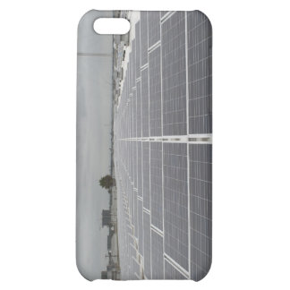 Solar Panel Field Case For iPhone 5C