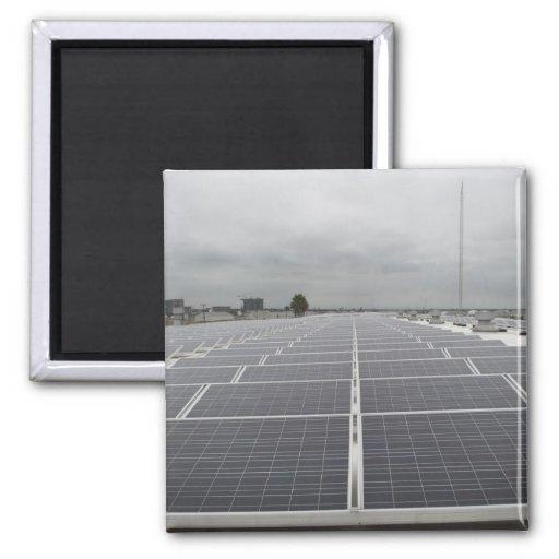 Solar Panel Field Magnets