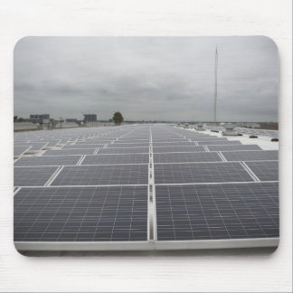 Solar Panel Field Mouse Pad