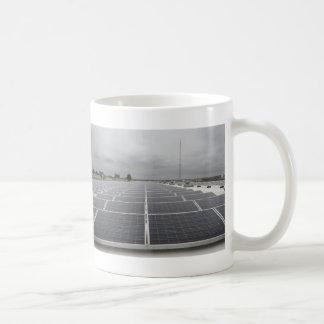 Solar Panel Field Coffee Mug