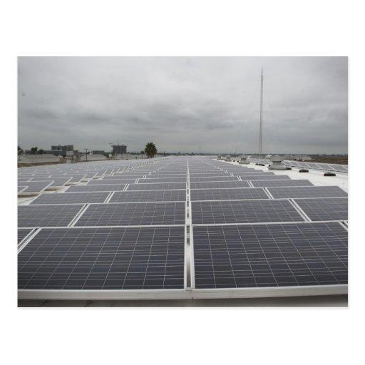 Solar Panel Field Postcards