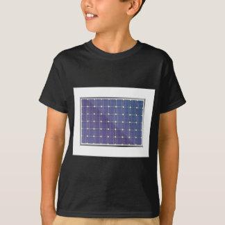 Solar panel on white T-Shirt