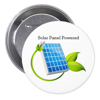 Solar Panel Powered Button