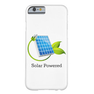 Solar Panel Powered Phone Case Barely There iPhone 6 Case