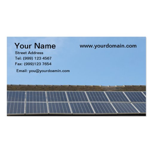Collections of solar business cards solar panels business card colourmoves