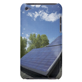 Solar panels on roof iPod Case-Mate case