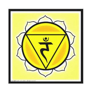 Solar Plexus Chakra Canvas Print