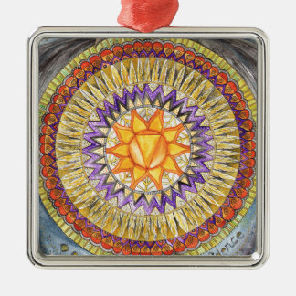 Solar Plexus Chakra Christmas Ornament