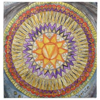 Solar Plexus Chakra Napkin