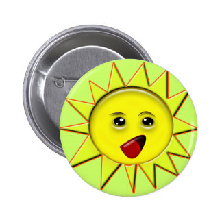 Solar Power Gifts and Promotional Products T-shirt 6 Cm Round Badge
