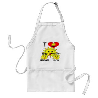 Solar Power Gifts and Promotional Products T-shirt Standard Apron