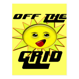 Solar Power Gifts and Promotional Products T-shirt Postcard
