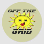 Solar Power Gifts and Promotional Products T-shirt Stickers