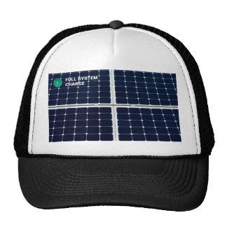 Solar power panel cap
