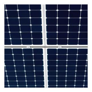 Solar power panel photograph