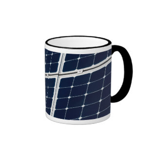 Solar power panel ringer mug