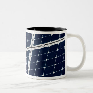 Solar power panel Two-Tone mug