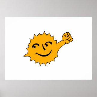 Solar Power Print