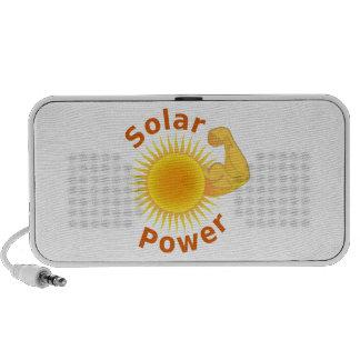 Solar Power Travel Speakers
