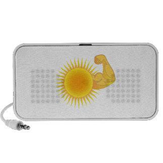 Solar Power Notebook Speaker