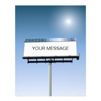 Solar Powered Billboard Flyer