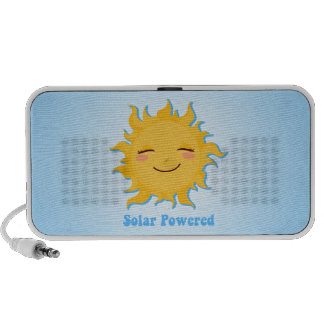 Solar Powered Doodle Mp3 Speakers