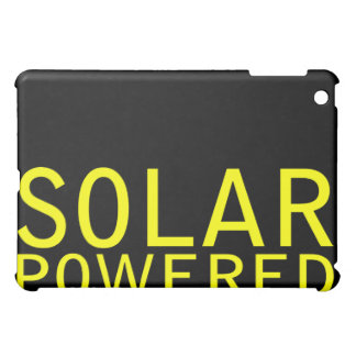 solar powered iPad mini cover