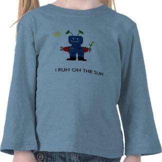 SOLAR POWERED Robot T-shirt