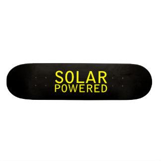 solar powered skate board deck