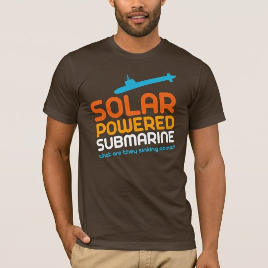 Solar Powered Submarine T-Shirt