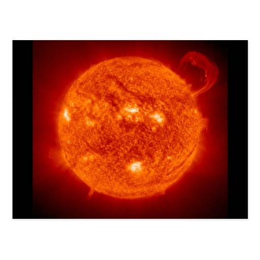 Solar Prominence - The Sun Post Cards