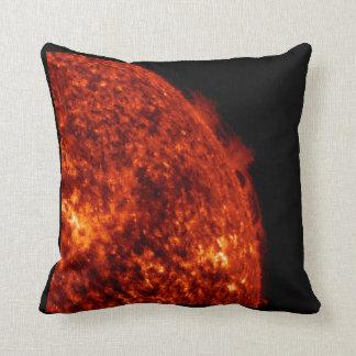 Solar Prominence Throw Pillow