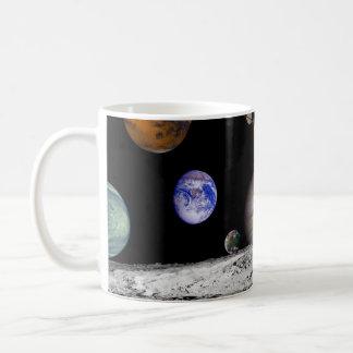 Solar Space System Planets Coffee Mug