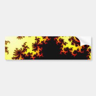 Solar Storm Abstract Bumper Sticker
