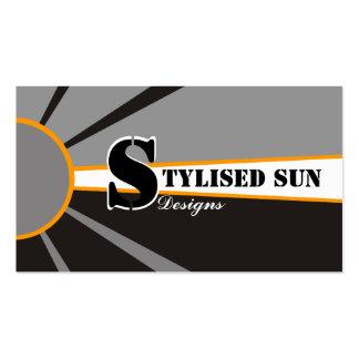 Solar/sun Energy/Power Alternative Sources Business Card Templates