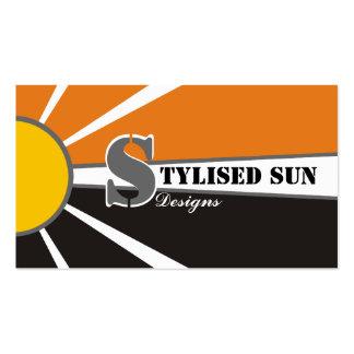Solar/sun Energy/Power Alternative Sources Business Card Template