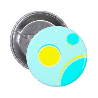 Solar System 6 Cm Round Badge