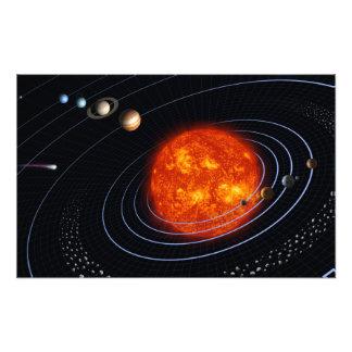 Solar System 8 Photo Print
