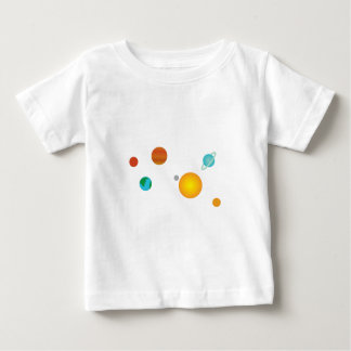 Solar System Baby T-Shirt