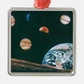 Solar system christmas ornament