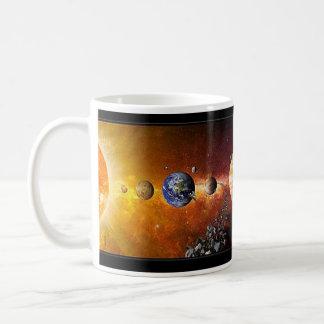 Solar System Coffe Mug