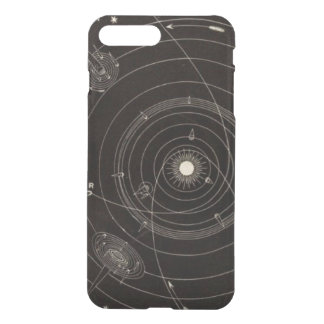 Solar System Comets Stars Vintage Celestial Orbit iPhone 7 Plus Case