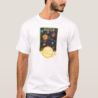 Solar System Hoop Jam clothing (white only) T-Shirt