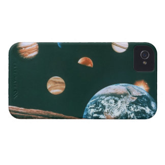 Solar system iPhone 4 covers
