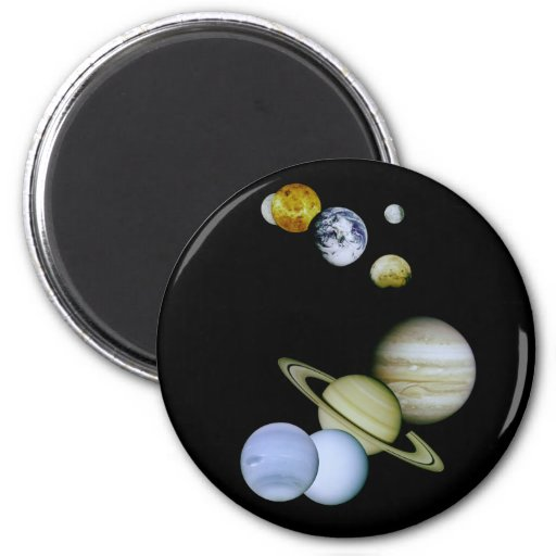 Solar System Magnet Space - Astronomy Science gift