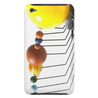 Solar system model on white background 2 barely there iPod case