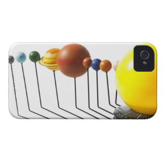Solar system model on white background 2 Case-Mate iPhone 4 case