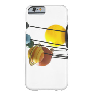 Solar system model on white background 4 barely there iPhone 6 case